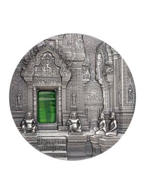 Tiffany Art Angkor 2oz 999 Fine Silver Coin