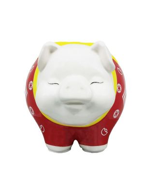 Prosperity Boar Moneybank (Red)