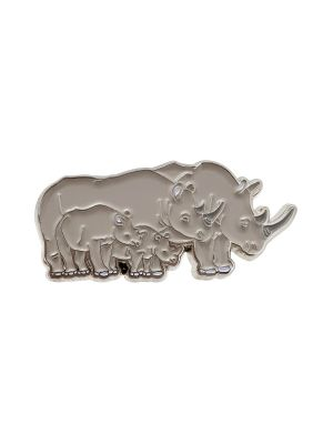 Rhinoceros Magnetic Pin