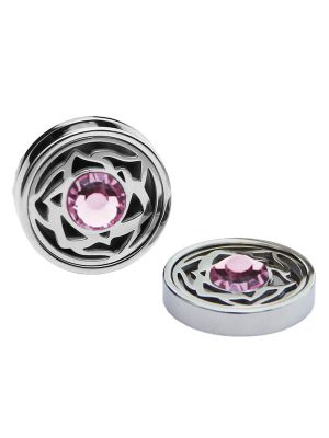 October Birthstone Crystals - Cufflinks & Charms Set