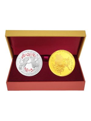 Double Wealth 2-in-1 Medallion Set