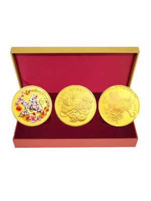 Bundle of Prosperity 3-in-1 Medallion Set