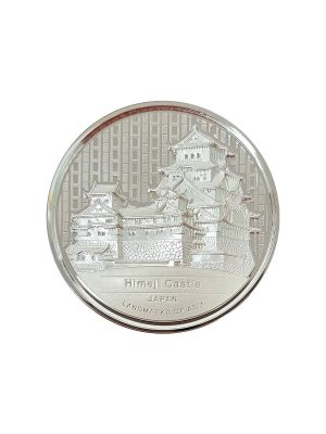 Japan Himeji Castle 2 oz 999 Fine Silver Proof Coin
