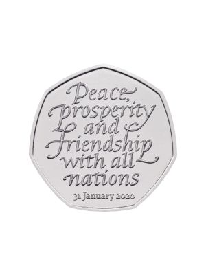 2020 UK Withdrawal from the European Union BU Coin