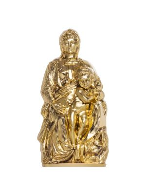 2020 Madonna of Bruges 3oz 999 Fine Silver Gilded Coin