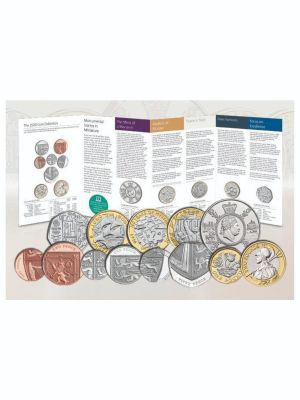 2020 UK Annual BU Coin Set