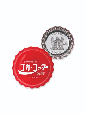 2020 Fiji Coca-Cola Global Edition Japan 6gm 999 Fine Silver Coin