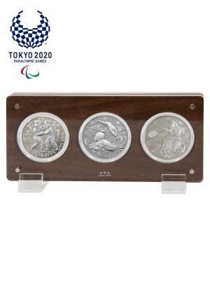 Paralympic Games Tokyo 2020 Complete Commemorative Silver Proof 3-Coin Set