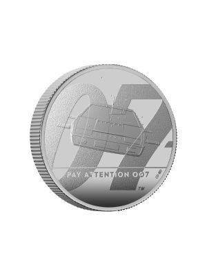 James Bond (2nd Issue) UK 1/2oz 999 Fine Silver Proof Coin