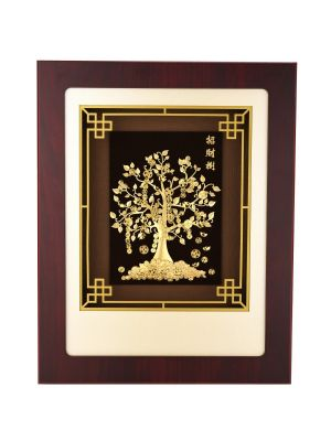 Tree of Wealth Frame with LED Lights