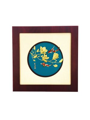Abundance Of Fortune Koi Fish Frame