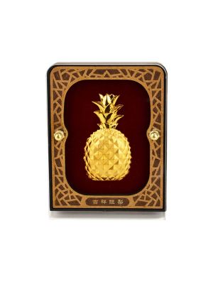Auspicious Pineapple Mini Desktop Frame