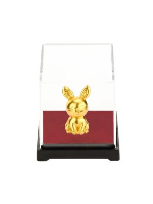 Baby Rabbit Mini Figurine