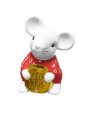 Prosperity Rat Moneybank (Red)
