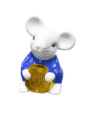 Prosperity Rat Moneybank (Blue)