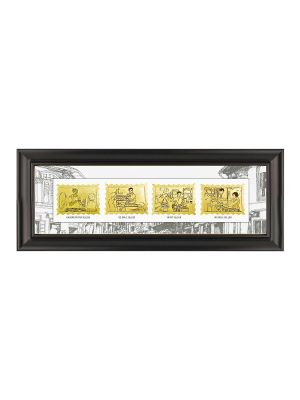 Vanishing Trades of Singapore Gold-foil Stamp Frame