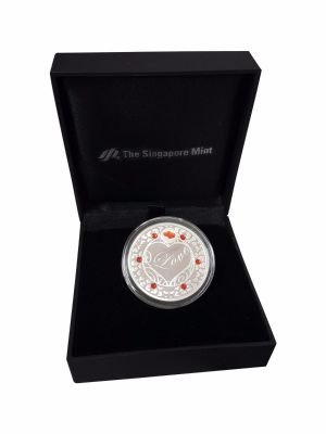 Love Silver-Plated Medallion (With Personalization)