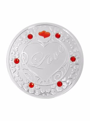 Love Silver-Plated Medallion