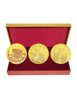 Bundle of Prosperity  (Year of the Ox) Medallion Set