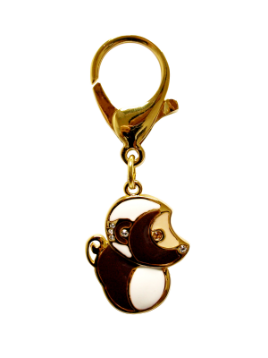 Gold Plated Monkey Lunar Charm