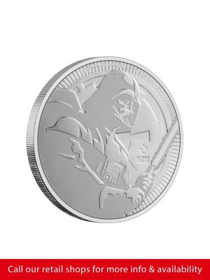 Star Wars 1oz Silver Bullion Coin – 2020 Darth Vader