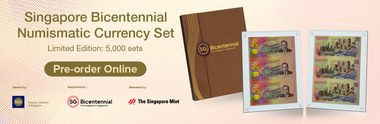 Launch of Singapore Bicentennial Numismatic Currency Set