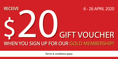 Gold Membership Application