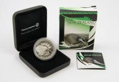 2006 New Zealand Kiwi Icons 1 Oz Silver Proof Coin