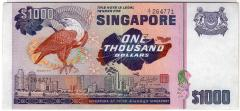 Singapore Bird Series $1000 Banknotes 264771