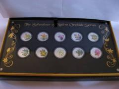 The Splendour of Native Orchids Series Coin Set