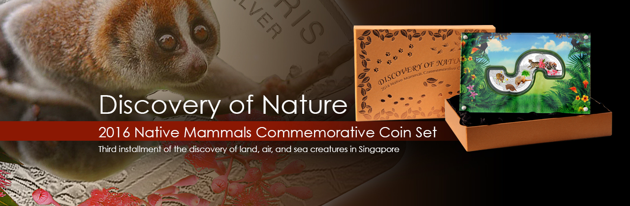Cambodia Discovery of Nature Series - 2016 Native Mammals of Singapore